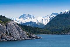 Parque nacional de la bahía de glaciar Fotografía de archivo libre de regalías