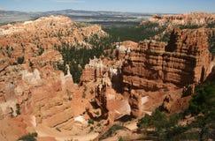 Parque nacional de la barranca de Bryce Imagen de archivo libre de regalías
