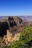 Parque nacional de la barranca magnífica, Arizona. Borde del norte Fotos de archivo