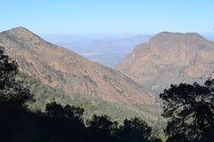 Parque nacional de la curva grande de las montañas de Chisos, Tejas foto de archivo