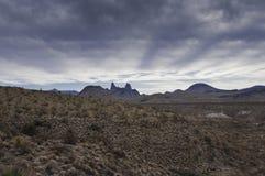 Parque nacional de la curva grande - los oídos de las mulas Imagen de archivo