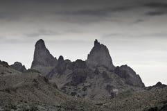 Parque nacional de la curva grande - los oídos de las mulas - monocromo Fotografía de archivo