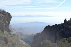 Parque nacional de la curva grande, rastro externo del lazo de la montaña imagenes de archivo