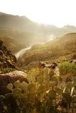 Parque nacional de la curva grande, Tejas Fotos de archivo libres de regalías