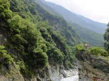 Parque nacional de la garganta de Taroko imagen de archivo libre de regalías