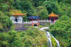 Parque nacional de la garganta de Taroko Fotografía de archivo