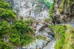 Parque nacional de la garganta de Taroko Fotos de archivo