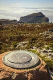Parque nacional de la montaña de la tabla Fotografía de archivo