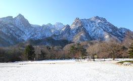 Parque nacional de la montaña de Seorak Imagenes de archivo
