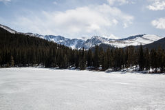 Parque nacional de la montaña rocosa foto de archivo libre de regalías