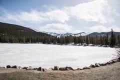 Parque nacional de la montaña rocosa fotografía de archivo libre de regalías