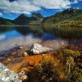 Parque nacional de la montaña de la cuna Imagenes de archivo