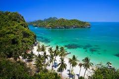 Parque nacional de la playa de la correa tropical del ANG Fotografía de archivo