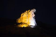 Parque nacional de la puerta de oro Foto de archivo libre de regalías