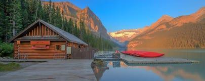 Parque nacional de Lake Louise Banff Foto de Stock Royalty Free