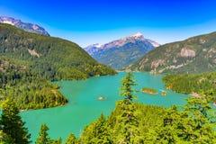 Parque nacional 001 de las cascadas del norte Foto de archivo libre de regalías