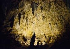 Parque nacional de las cavernas de Carlsbad Imágenes de archivo libres de regalías