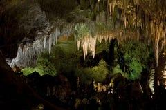 Parque nacional de las cavernas de Carlsbad Foto de archivo libre de regalías