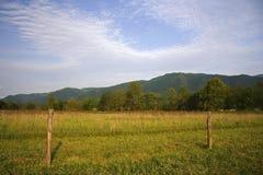 Parque nacional de las grandes montañas de Smokey Imagen de archivo libre de regalías