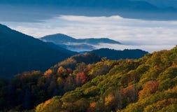 Parque nacional de las montañas ahumadas Fotos de archivo