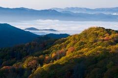 Parque nacional de las montañas ahumadas Imagen de archivo libre de regalías