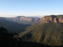 Parque nacional de las montañas azules, la UNESCO, Australia Imagen de archivo