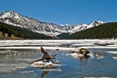 Parque nacional de las montañas rocosas Imágenes de archivo libres de regalías