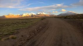 Parque nacional de Lauca - Chile Imagen de archivo libre de regalías