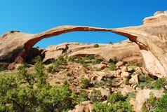 Parque nacional de los arcos Fotografía de archivo libre de regalías
