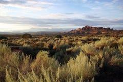 Parque nacional de los arcos en Utah Foto de archivo libre de regalías