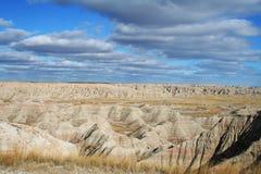 Parque nacional de los Badlands Foto de archivo libre de regalías
