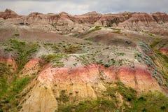 Parque nacional de los Badlands imagenes de archivo