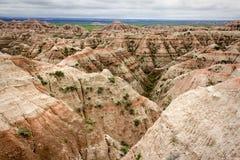 Parque nacional de los Badlands imagen de archivo libre de regalías