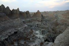 Parque nacional de los Badlands Fotos de archivo libres de regalías