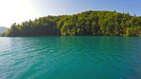 Parque nacional de los lagos Plitvice almacen de video