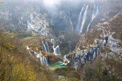 Parque nacional de los lagos Plitvice Imagen de archivo