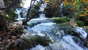 Parque nacional de los lagos Plitvice Croacia almacen de metraje de vídeo
