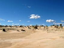 Parque nacional de los lagos Willandra, la UNESCO, Australia Imágenes de archivo libres de regalías