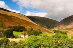 Parque nacional de los valles de Yorkshire Foto de archivo