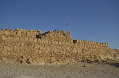 Parque nacional de Masada Fotos de Stock