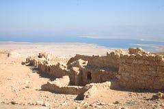 Parque nacional de Masada, Israel Imágenes de archivo libres de regalías