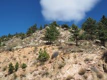 Parque nacional de montanha rochosa fotografia de stock royalty free