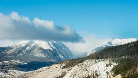 Parque nacional de montanha rochosa Imagens de Stock