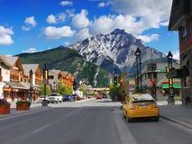 Parque nacional de Montanhas Rochosas Banff do canadense Imagens de Stock