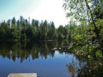 Parque nacional de Oulanka Fotos de archivo