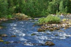 Parque nacional de Oulanka foto de archivo