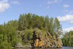 Parque nacional de Oulanka fotografia de stock