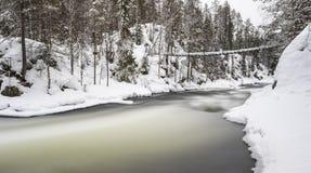Parque nacional de Oulanka Foto de Stock