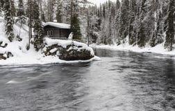 Parque nacional de Oulanka Imagens de Stock