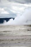 Parque nacional de Paintpots Yellowstone de los artistas, Wyoming Fotografía de archivo libre de regalías